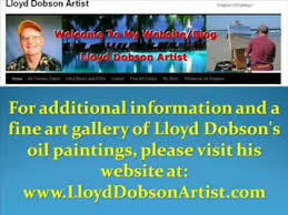 Art - Lloyd Dobson Artist Website