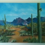 Art - Shack in the Desert #12714