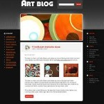 Art - WordPress Artist Blog Template